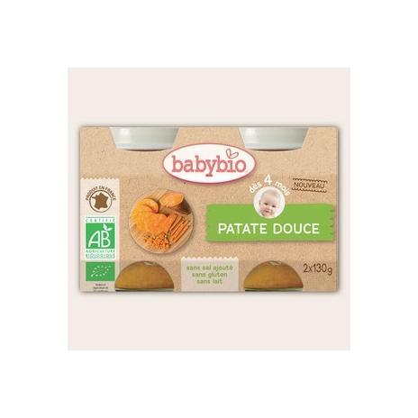 Aliment Infant Patate Douce 2 Pots 130 G