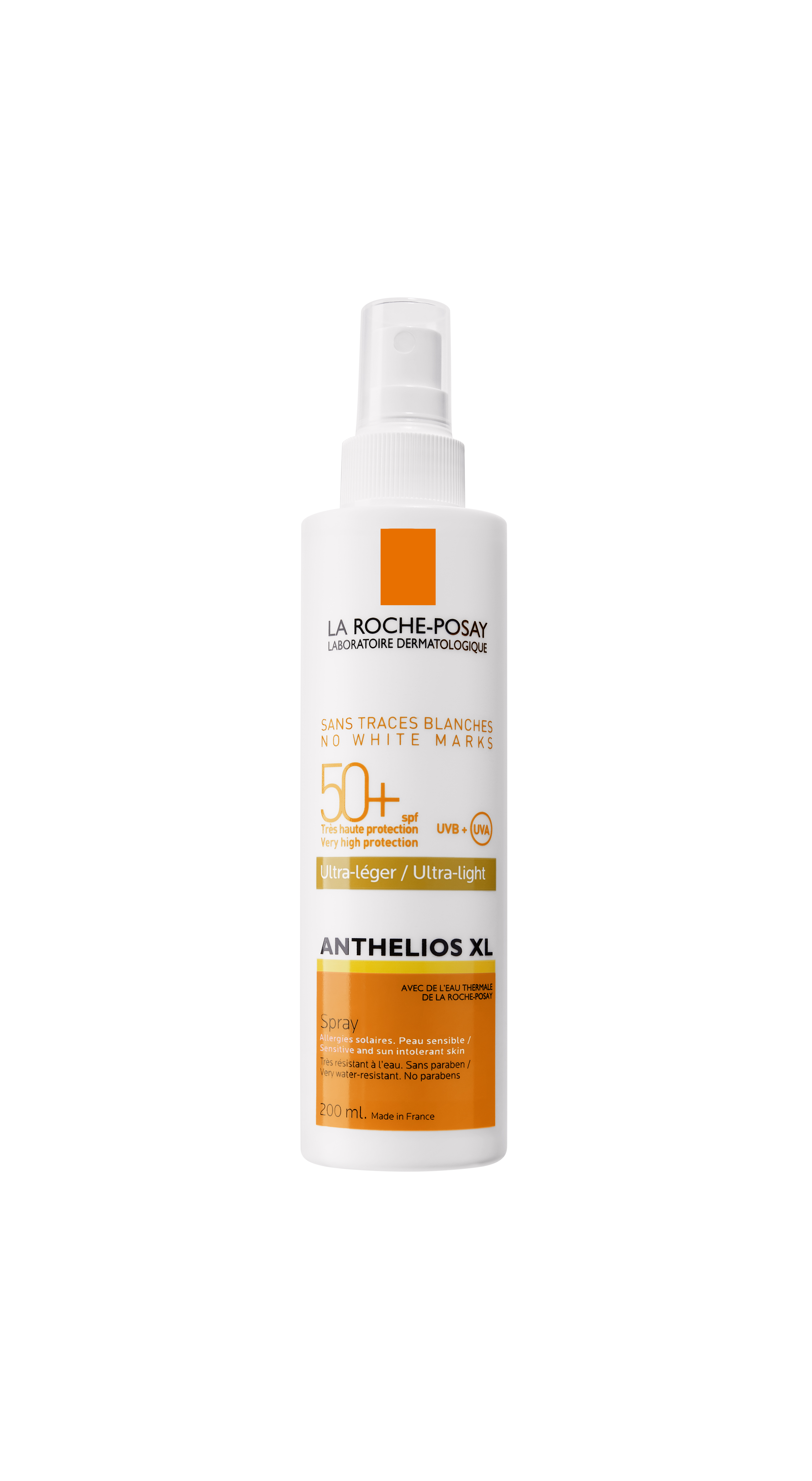 Anthelios Creme Solaire En Spray Corps Spf 50 Avec Parfum 200 Ml