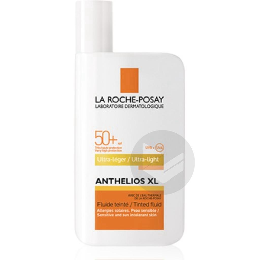 Anthelios Crème Solaire Texture Fluide Teinté Ultra-Léger Avec Parfum SPF50+ Teinté 50ml