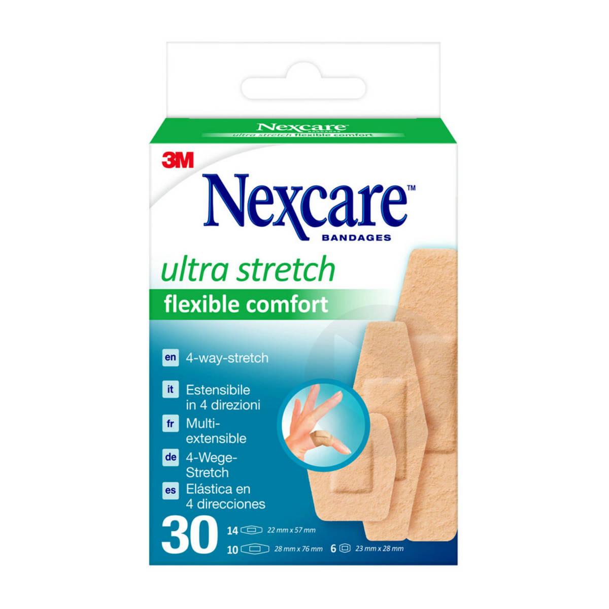 Pansements Extensibles Nexcare Flexible Comfort Ultra X 30