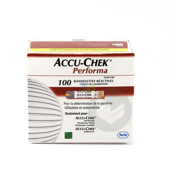 Accu Chek Performa Bdlette 2 Fl 50