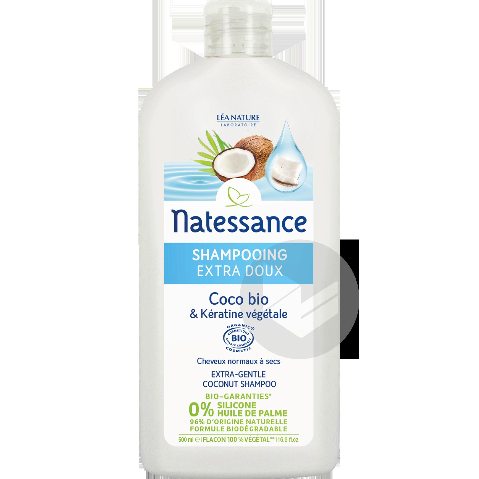 Shampooing Extra Doux Coco Bio Keratine Vegetale
