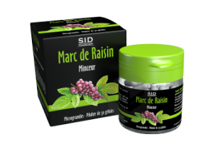 SIDNSANTE Marc de Raisin