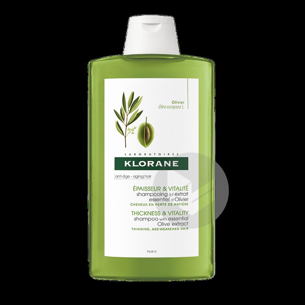 Shampooing à l'extrait essentiel d'olivier 400 ml