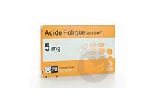 Folique Arrow 5 Mg Comprime Plaquette De 20
