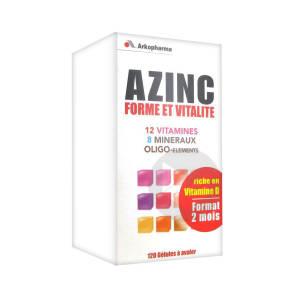 Azinc Forme Et Vitalite Gel Des 15 Ans Fl 120