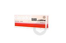 Cafeine 500 Mg Comprime Boite De 16