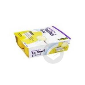 Fortimel Creme Nutriment Banane 4 Coupelles 200 G