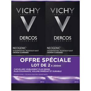 Lot 2 Dercos Technique Neogenic Shampooing Redensifiant Neogenic