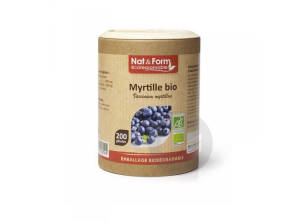 Myrtille Bio Eco Responsable 200 Gelules