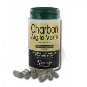 Argile Verte Charbon Vegetal 120 Gelules