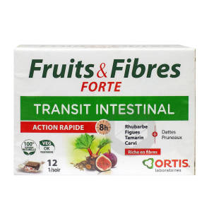 Fruits Fibres Forte 12 Cubes