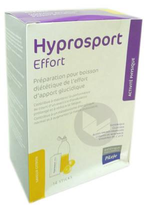 Hyprosport Effort Pdr Pour Boisson Citron 14 Sticks 30 G
