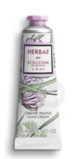 Creme Mains Herbae L Eau 30 Ml
