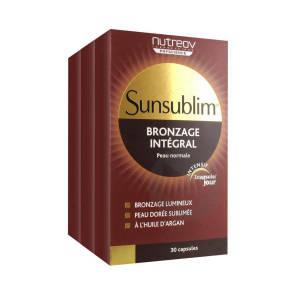 Sunsublim Caps Bronzage Integral 3 B 30