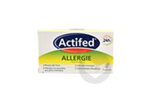 Allergie Cetirizine 10 Mg Comprime Pellicule Secable Plaquette De 7