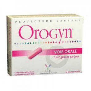 Orogyn Complexe Probiotique Gel Protecteur Vaginal B 30