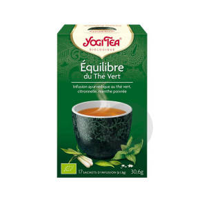 The Equilibre Du The Vert 17 Sachets