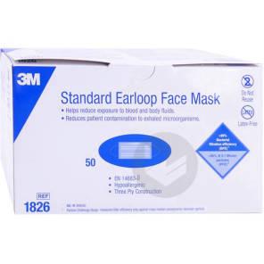 3 M Masques Chirurgicaux A Usage Unique X 50