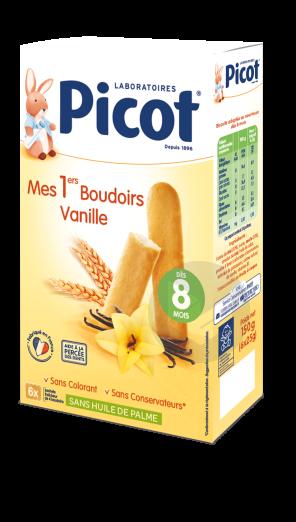 Picot Mes 1 Ers Boudoirs Vanille Boite De 24