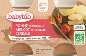Pot Pomme Abricot Cereale