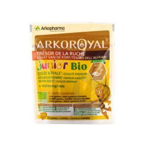 Arko Royal Tresor De La Ruche Gelee Royale Qualite Premium Junior Bio 20 Gommes