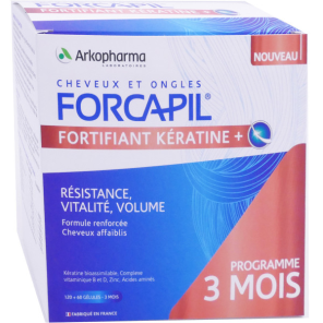 Forcapil Fortifiant 180 Gelules