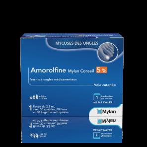 Amorolfine 5 Vernis A Ongles Medicamenteux