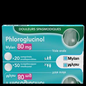 Phloroglucinol 80 Mg 20 Comprimes