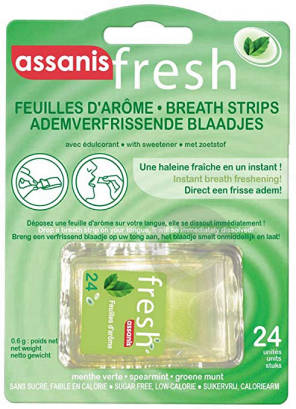 Assanis Fresh Feuille Darome Menthe Verte