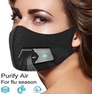 Masque Avec Valve Electriques