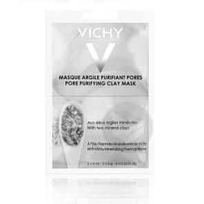 Purete Thermale Masque Bi Dose Argile Purifiant 2 X 6 Ml