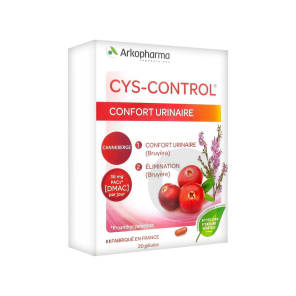 Cys Control Confort Urinaire 20 Gelules