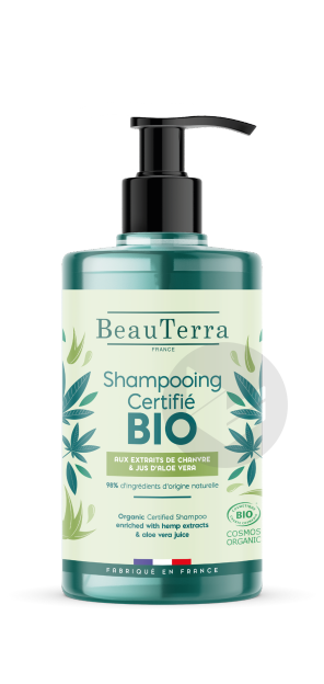 Shampooing Bio Chanvre Aloe 750 Ml