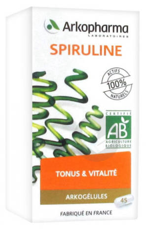 Arkogelules Spiruline Bio 150 Gelules