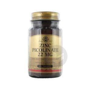 Zinc Picolinate Tabl Pot 100