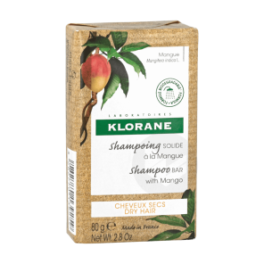 Shampoing Solide Nutrition A La Mangue 80 G