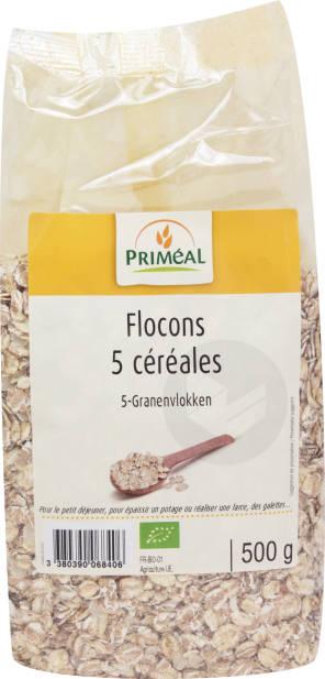 Flocons 5 Cereales 500 G