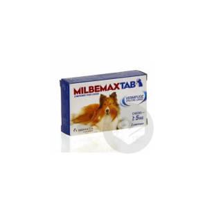 Milbemax Tab Chien 2 Comprimes