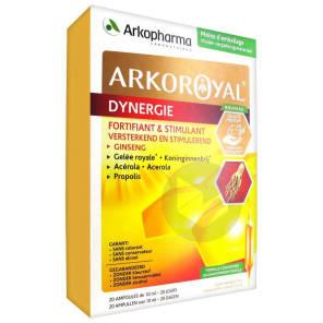 Arkoroyal Dynergie Ginseng Gelee Royale Propolis S Buv 20 Amp 10 Ml