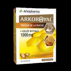 Arko Royal Tresor De La Ruche Gelee Royale 1000 Mg 30 Capsules