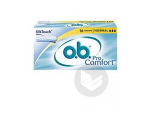 O B Pro Comfort 16 Tampons Normal