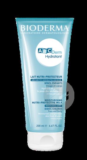 Abcderm Hydratant 200 Ml Abcderm Lait Nutri Protecteur