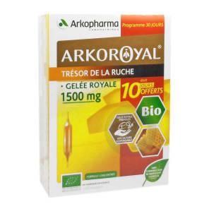 Arkoroyal Bio Tresor De La Ruche Gelee Royale 1500 Mg