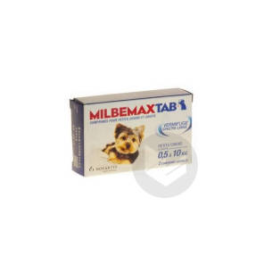 Milbemax Tab Chiot 2 Comprimes