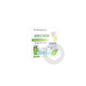 Arkovox Comprime A Sucer Arome Menthe Eucalyptus 20 Comprimes