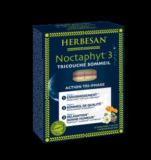Noctaphyt 3 Tricouche Sommeil 15 Comprimes Tricouche