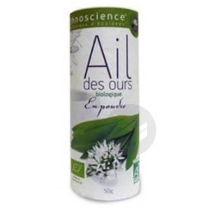 Ail Des Ours En Poudre Bio 50 G
