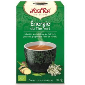 Energie Du The Vert 17 Sachets