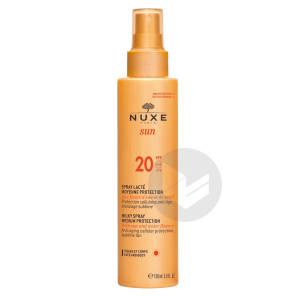 Spray Lacte Moyenne Protection Spf 20 Sun